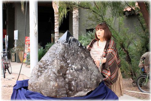 エレスチャル ツーソン tamakiさんおどろく 写真