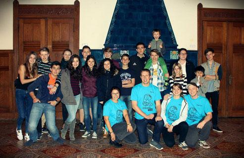 Teilnehmer und Coaches des Workshops in Bad Harzburg