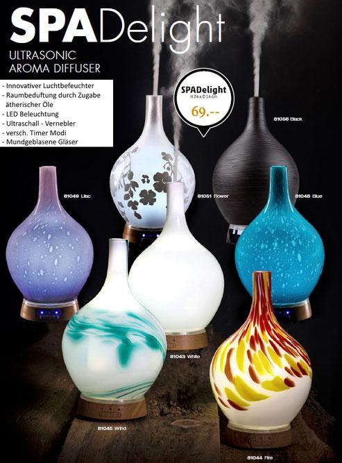 Aroma Therapie, Luftbefeuchter, Duftstoffe, Duftöl, Duftlampe, Kerzenhalter, Teelicht