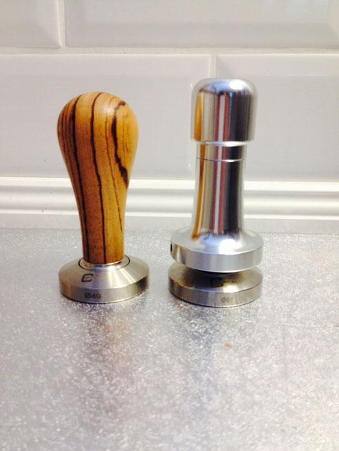 Holz Optik,Tecnic Griff mit Feder für einen immer gleichen Druck beim Pressen