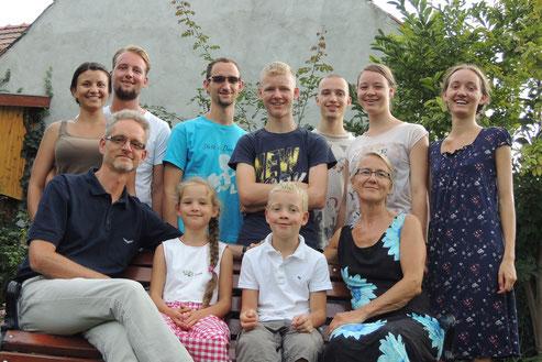 Familie Müller (Sommer 2016)