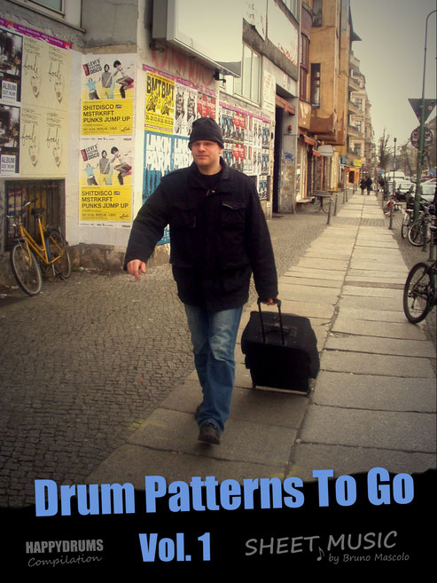 Drum Patterns To Go - intermediate - advanced drum set grooves & fills - Happydrums Compilation