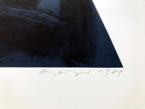Siegfried Anzinger Edition Radierung Druckgrafik