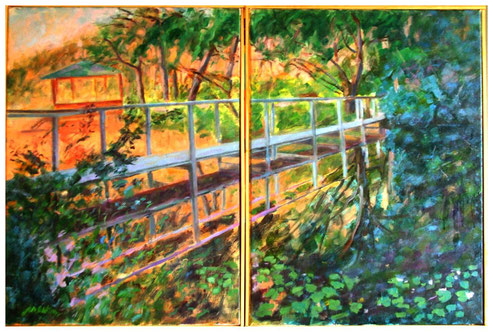 """FOOTBRIDGE DIPTYCH"""