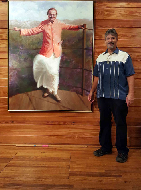 2017 : Allan at the Meher Center, Sth. Carolina