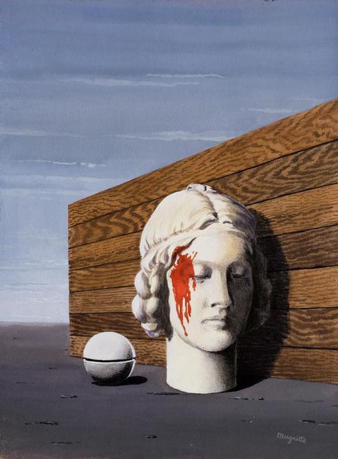 """René Magritte, """"La memoria"""" (1940)"""