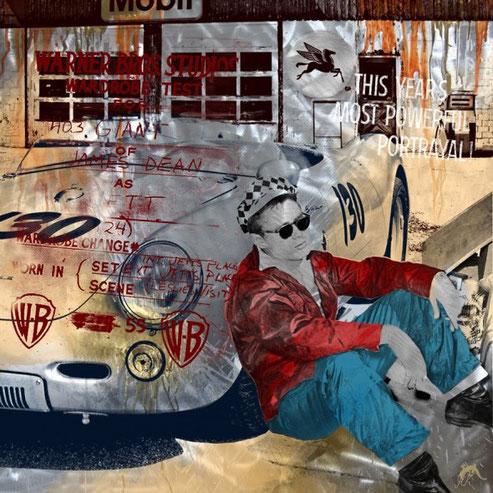 Devin Miles, Artwork, james Dean