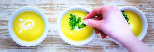 Detox Suppen Rezepte mit Kartoffeln