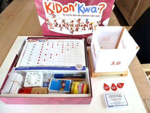 KiDon'Kwa, tu as le don de sauver une vie.