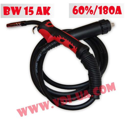 Горелка полуавтоматическая Bleck Wolf BW15AK