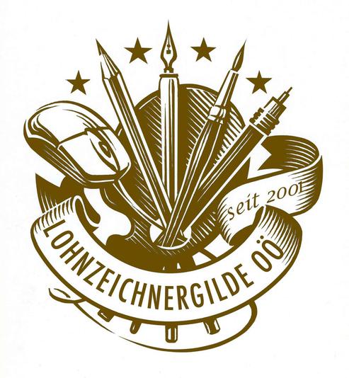 Lohnzeichnergilde OÖ Wappen