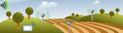 sondes Sentek en réseau pour collecter vos données en continu avec Agralis