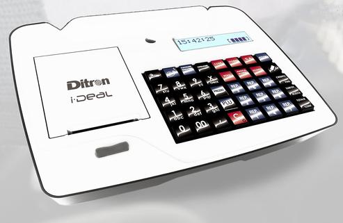 Ditron I-DEAL (vista frontale lato operatore)