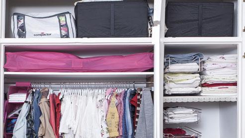 Como organizar la ropa de otra temporada - Aorganizarte