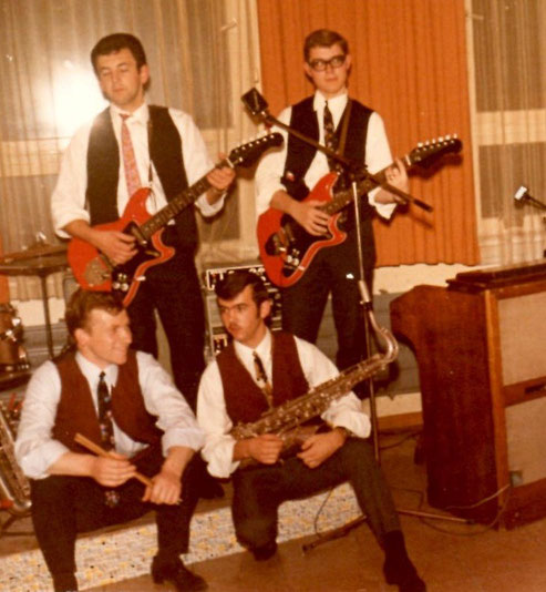The Rhythmen Band : Andy (Andreas Brandhuber) - Werner (Dippon) - Eddy (Eduard Haber) - Stups (Stefan Kurbel) - 1965