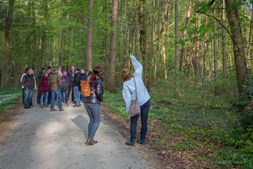 Schlossparkwanderung am 22.April 2018