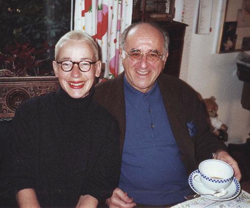 Mit Alfred Biolek beim Frühstück daheim
