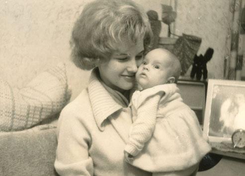 Mutter Liane und ihr Baby Liane