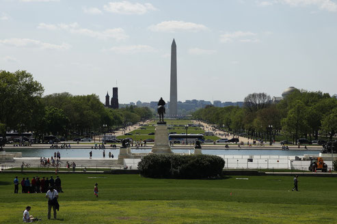 Die National Mall in Washington DC