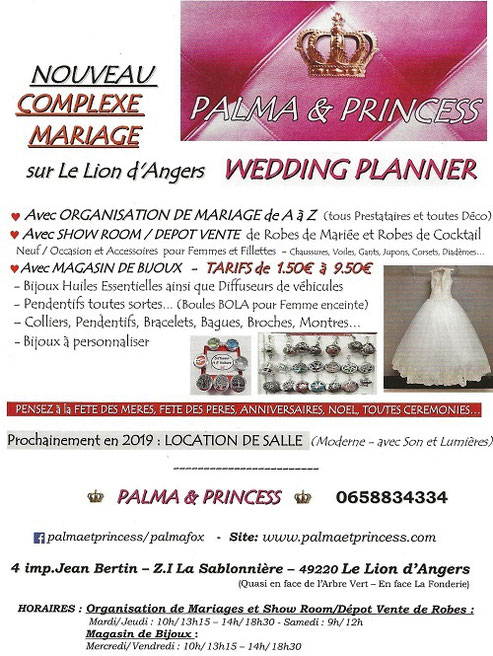 Organisation mariage le lion d'Angers