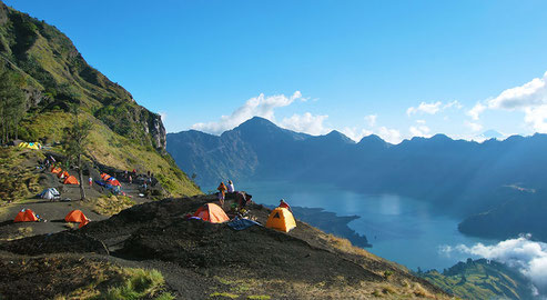 Rinjani Trek, Trekking, hikking, climbing, eco tours, soft adventure, walk, long distance