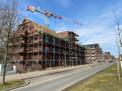 Neubaugebiet Bremen-Arsten Ecke Hans-Hackmack-Straße / Kurt-Georg-Kiesinger-Allee