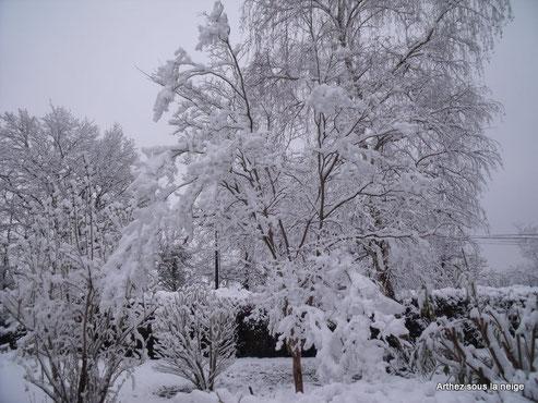 Lokourna sous la neige le 12/03/2013