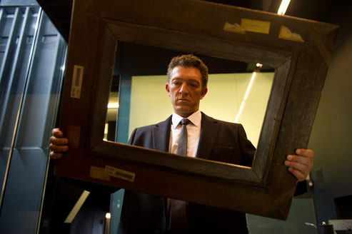 Pas content, Vincent Cassel: where the f... is the painting? (©Pathé Distribution)