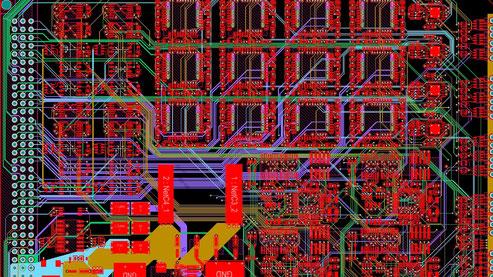 PCB Design Entflechtung