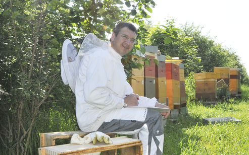 Honig kaufen Bio Imker Peter Bioland Regional Bienen Gesundheit HAPEs BioBiene