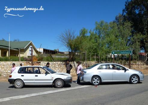 Unfall in Südafrika (es ging alles gut aus!)