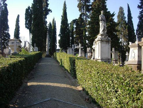 フィレンツェのイギリス人墓地