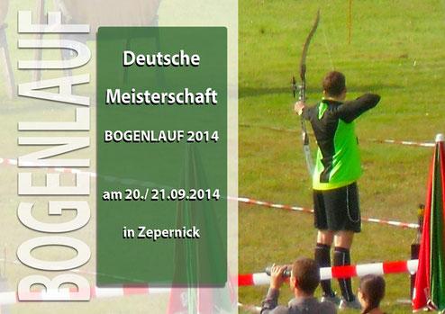 DM Bogenlaufen am 20./ 21.09.2014 in Zepernick