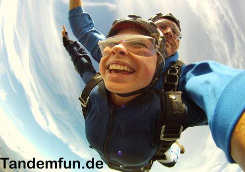 Fallschirmspringen Österreich, Tandemsprung