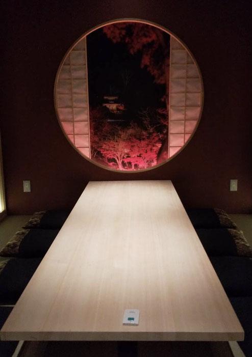 桧柾テーブル