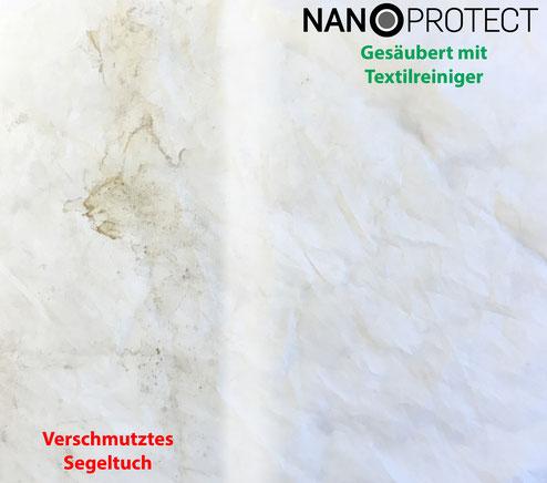 Nanoprotect Textilreiniger - Kraftvoll und ergiebig
