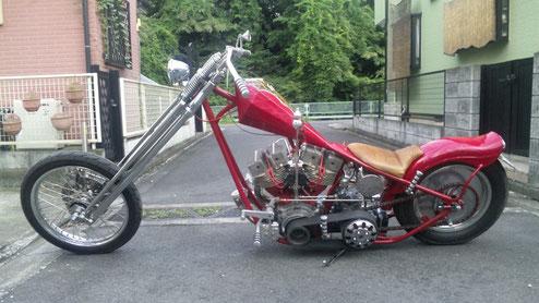 カスタムバイクの写真