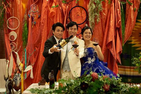 長年の子弟関係・・・結婚式は大切な人との思いを振り返る場でもあります