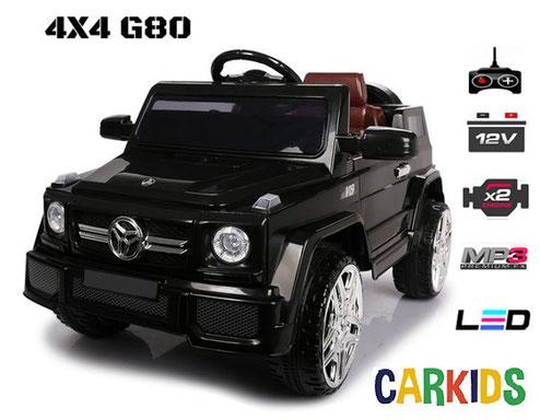 4x4 g80 noir cr ateur de bonheur voitures lectriques pour b b s et enfants. Black Bedroom Furniture Sets. Home Design Ideas
