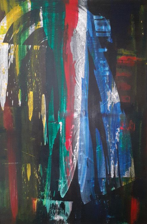"2019 C805  Hope     Acrylic on Canvas  11/02/19  24.00"" W x 36.00"" H  |  Available"