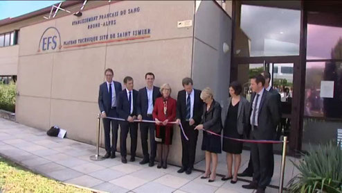 inauguration EFS St ISMIER