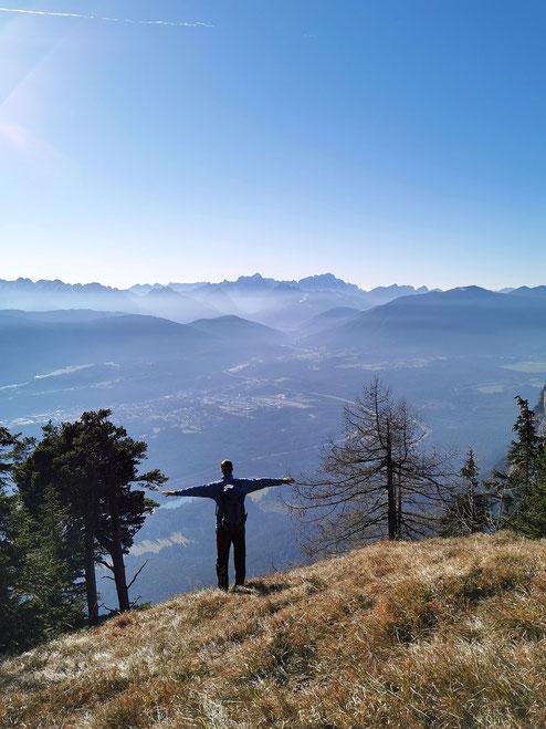 Beim Abstieg kurz nach dem Alpengarten (Foto: Christoph Greilberger von www.chrisport.at)