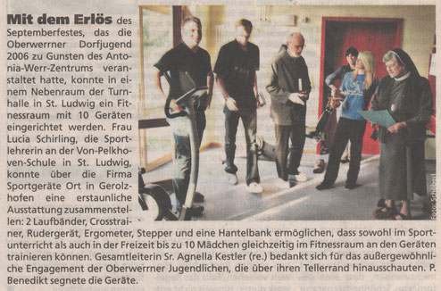 23.05.2007 Schweinfurter Anzeiger