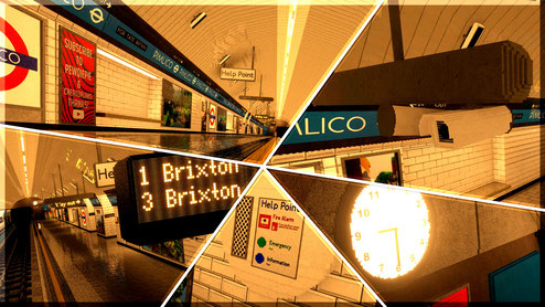 Minecraft Pimlico Station