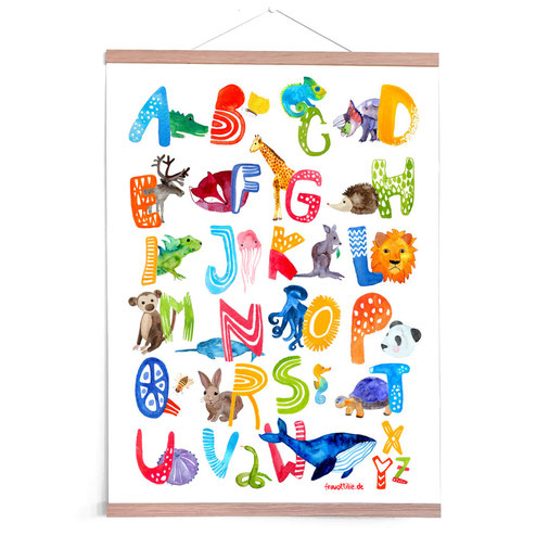 Nursery Poster *Alphabet / ABC*