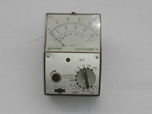 Metrawatt  Vielfach Messgerät Typ. Metratest  2