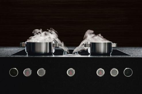 Küche mit modernster Technik und Geräten