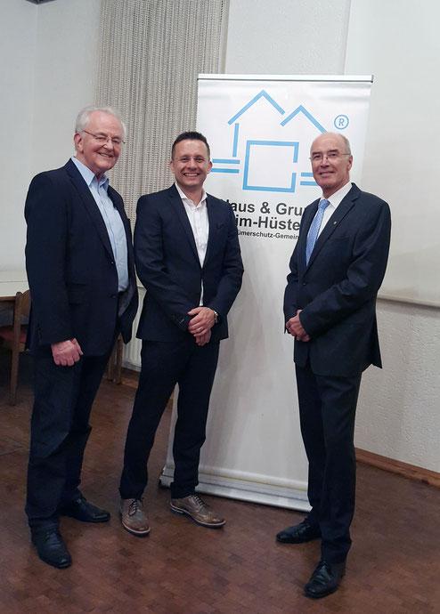 (v.l.) Gerd Schulte, Kai Stiefermann, Wilfried Gothe
