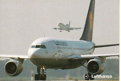 Eine Airbus A310-300 der Lufthansa/Courtesy: Lufthansa