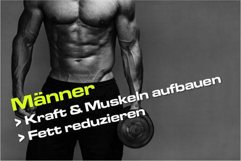 Personal Training Muskeln aufbauen